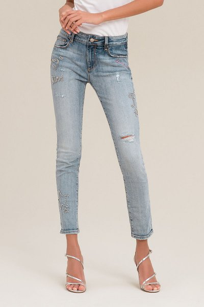 Jeans FRACOMINA Bella Bordados FR20PJBELLA8