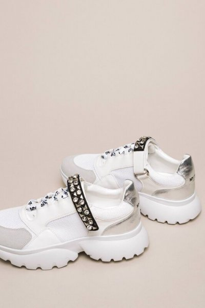 Sneakers TWINSET Tira Strass 201MCP092