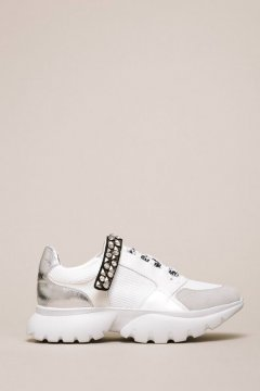 Sneakers TWINSET Tira Strass 201MCP092