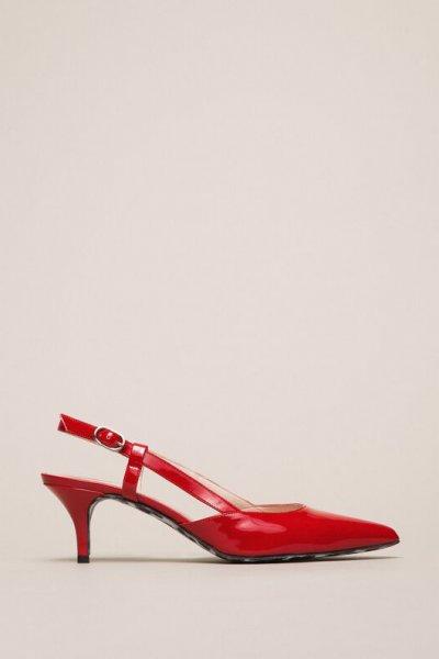 Zapato TWINSET Rojo 201MCP01C