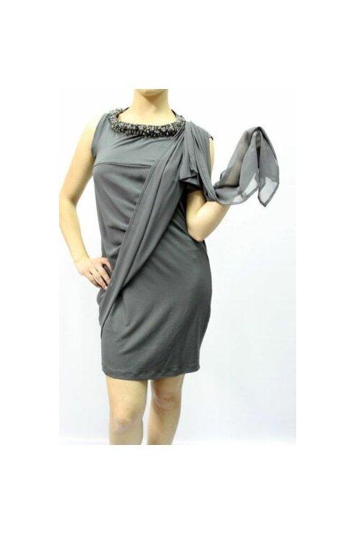 Vestido TWIN-SET Punto Collar P2A2OA