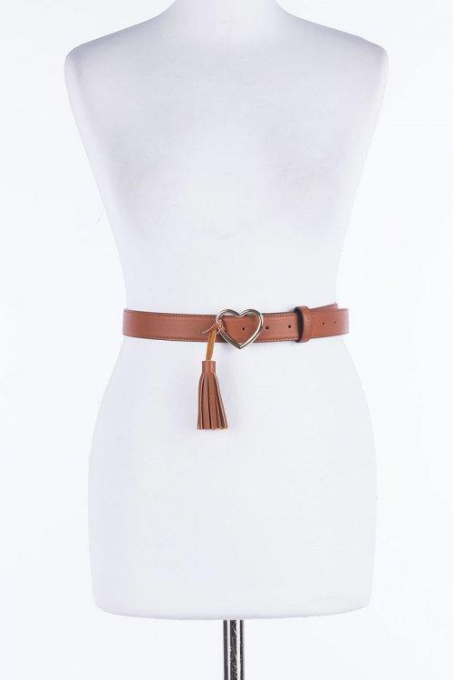 Cinturón TWINSET Regular Hebilla Corazón 201MO5350
