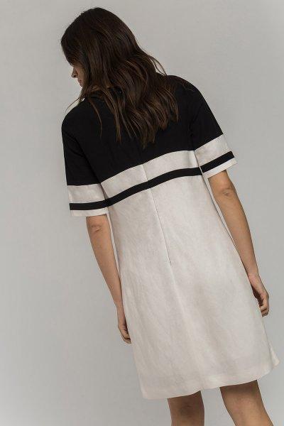 Vestido ALBA CONDE Bicolor Marinero 2409-611-11