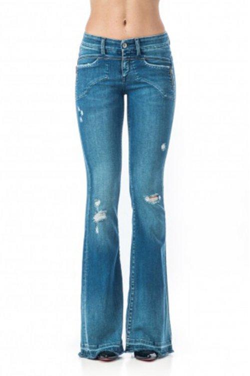Jeans SOS Sacarlett Campana Rotos P1451 3959