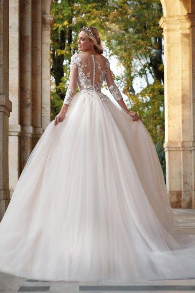 Vestido NICOLE Falda Tul NI121822