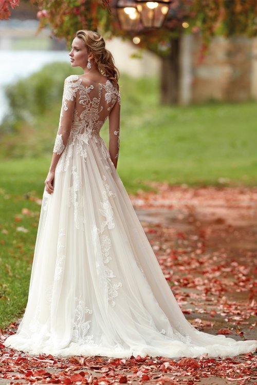 Vestido NICOLE Bordado Romantico NI121816
