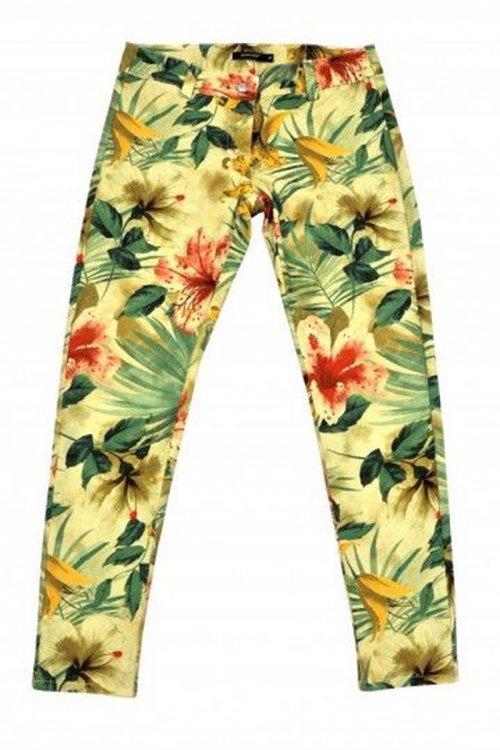 Pantalón DENNY ROSE Flores 6580