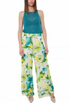 Pantalón TWINSET Crepe Estampado 191TT2472
