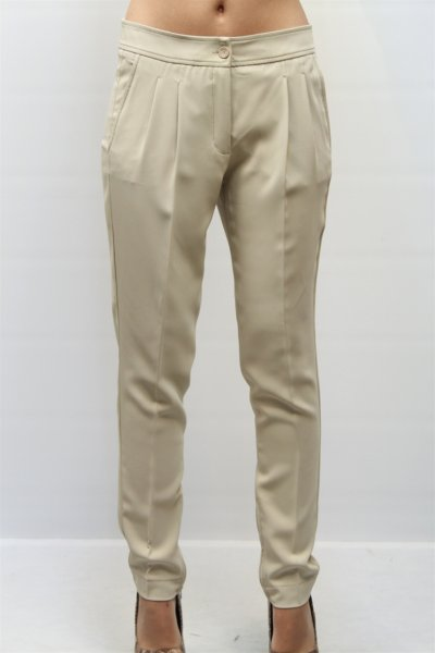 Pantalón TWINSET Fluído Con Pinzas P27230