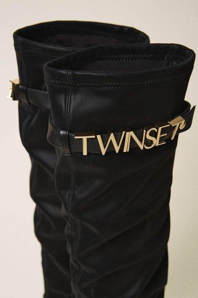 Botas TWINSET Sneakers Con Logotipo 202TCP038