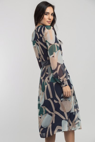 Vestido ALBA CONDE Estampado Multicolor 5421-306-30