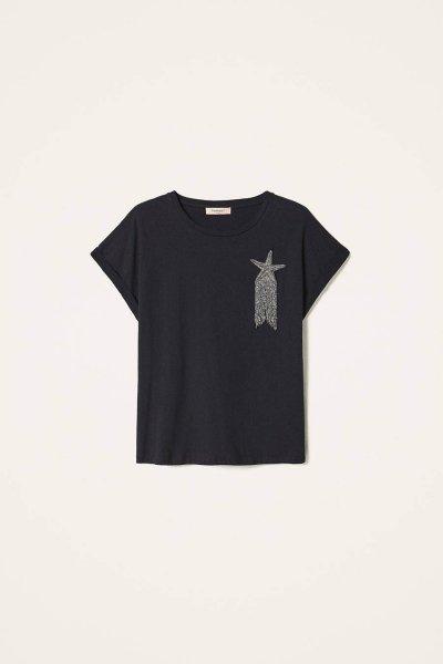 Camiseta TWINSET Con Estrella Bordada 202TP246A