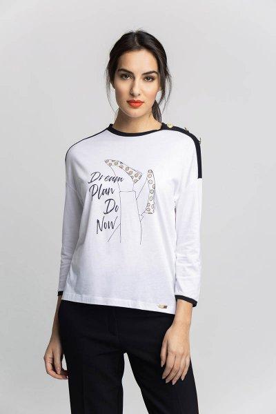 Camiseta ALBA CONDE Estampado Manoletinas 5806-200-11