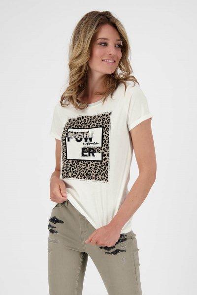 Camiseta MONARI Cuadro Animal Print 804876