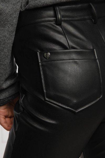Pantalón TWINSET De Piel Con Bolsillos 202MP2081