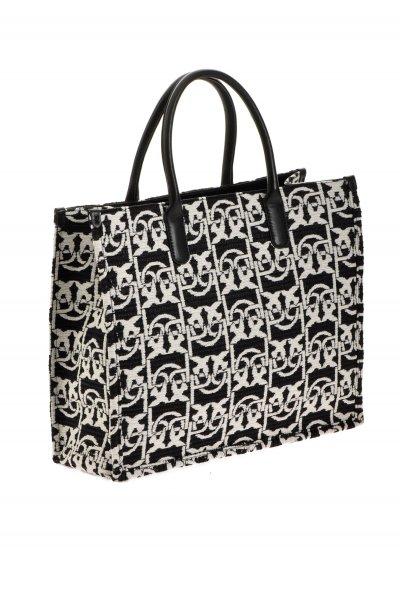Bolso PINKO Shopping Jacquard Monograma 1P21WXY6NQZZ2
