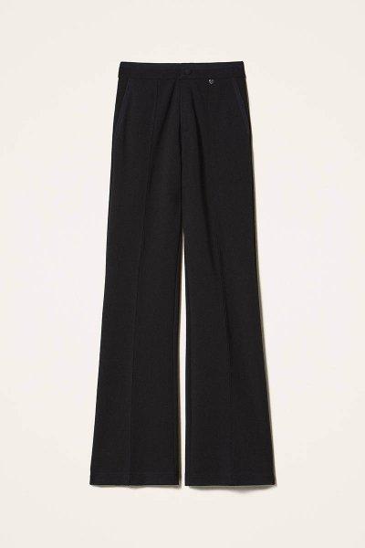 Pantalón TWINSET Con Detalles De Crespón De China 202MP2292