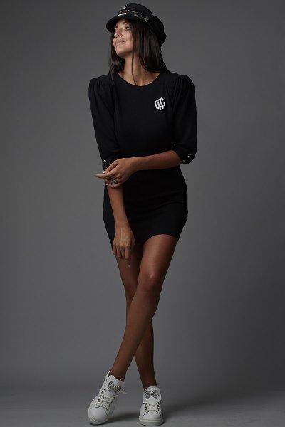 Vestido CARMEN HORNEROS Punto Logo 20CH014