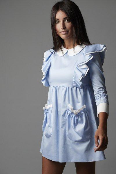 Vestido CARMEN HORNEROS Babydoll Popelin 20CH001