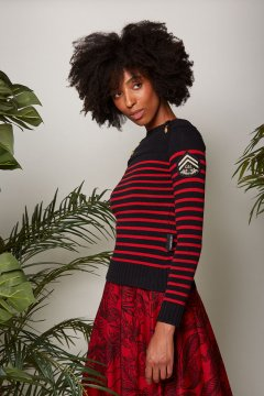 Jersey GUTS & LOVE Jungle Stripes Knit M-20-3-002