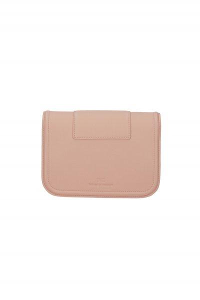 Bolso ELISABETTA FRANCHI Mini Logotipo Maxi Rose Gold BS80A06E2