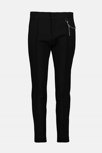 Pantalones MONARI Negro De Punto De Viscosa 804644