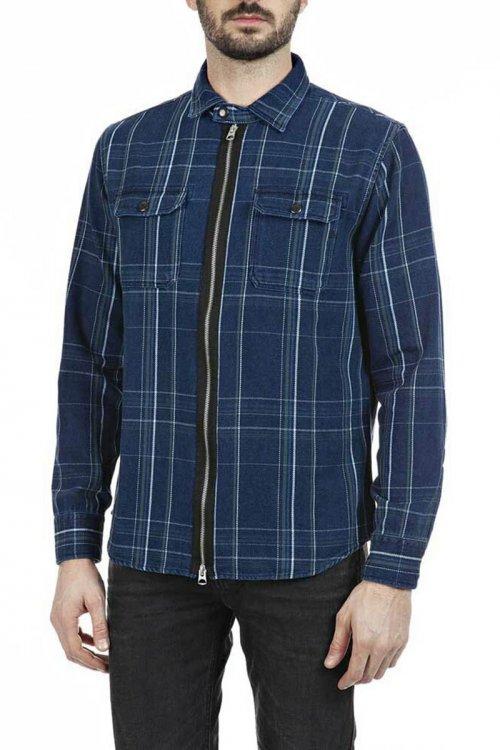 Camisa REPLAY Cuadros Doble Cremallera M4034 52312