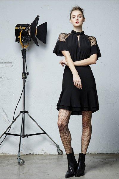 Vestido &ME UNLIMITED Shamira Negro 09-43375.1