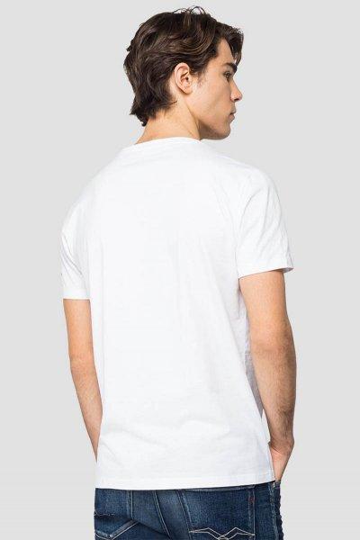 Camiseta REPLAY De Corte Regular Con Estampado M3158 2660