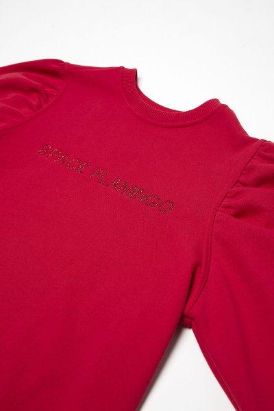 Vestido SPACE FLAMINGO Sudadera Rojo SF E032
