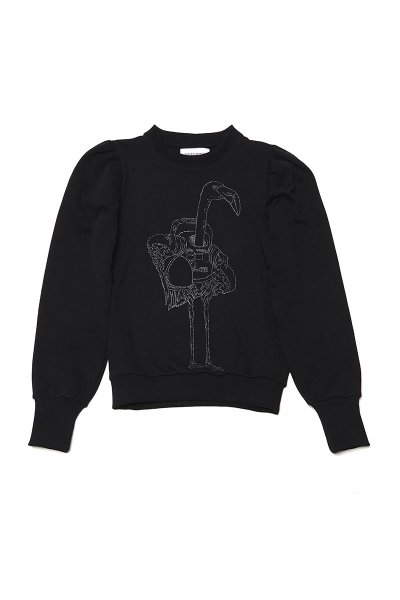 Sudadera SPACE FLAMINGO Flamenco Glitter SF E050