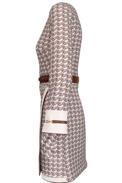Vestido ELISABETTA FRANCHI Asimétrico Estampado AB10607E2