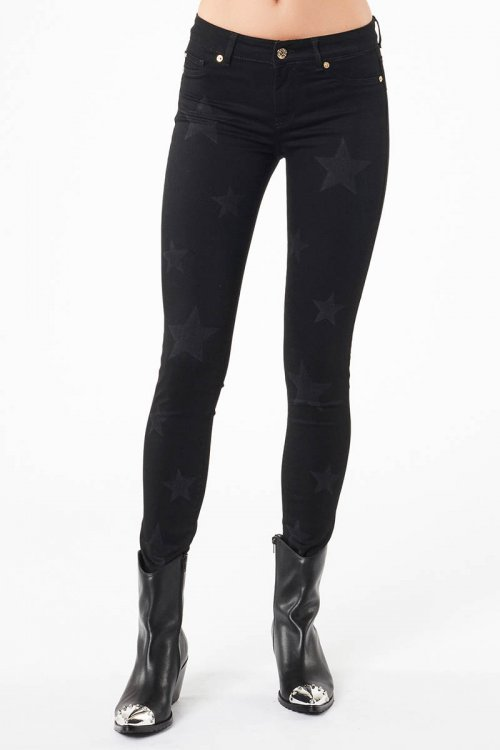 Jeans DENNY ROSE Negro Estrellas 021ND26016