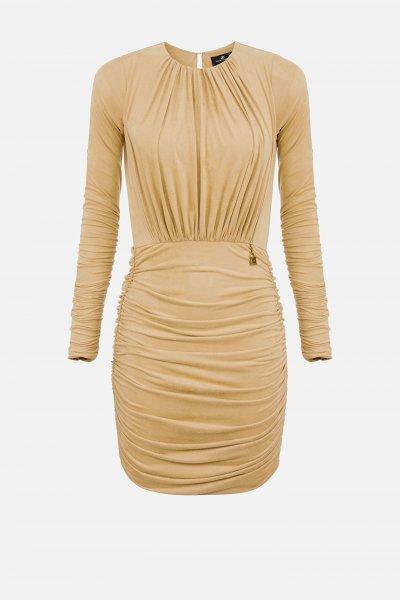 Vestido ELISABETTA FRANCHI Drapeado AB07207E2