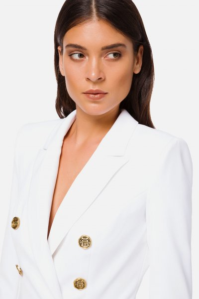 Vestido ELISABETTA FRANCHI Midi Cruzado AB806006E2