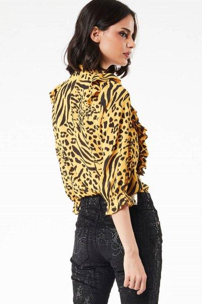 Camisa DENNY ROSE Animal Print 021ND45002