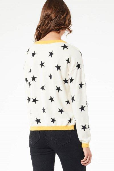 Jersey DENNY ROSE Estampado Estrellas 021ND53017