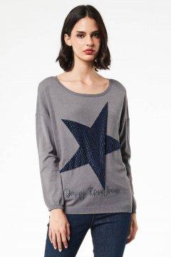 Jersey DENNY ROSE Estrella Y Strass 021ND53036