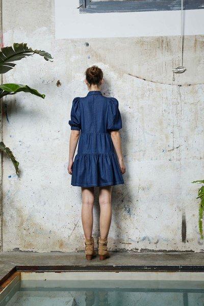 Vestido &ME UNLIMITED Thea Azul  09-43373.1