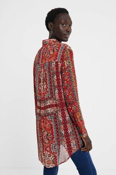 Camisa DESIGUAL Luana Cenefas Étnicas 20WWCW773007