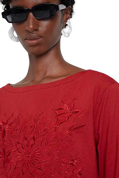 Camiseta DESIGUAL Dublín Borgoña 20WWTK543007