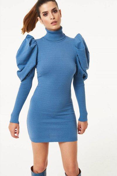 Vestido DENNY ROSE De Punto Cuello Cisne 021DD50003