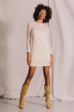 Vestido ARGGIDO Combinado Acanalado 44009