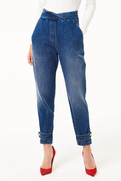 Jeans DENNY ROSE Cintura Asimétrica 021DD20013
