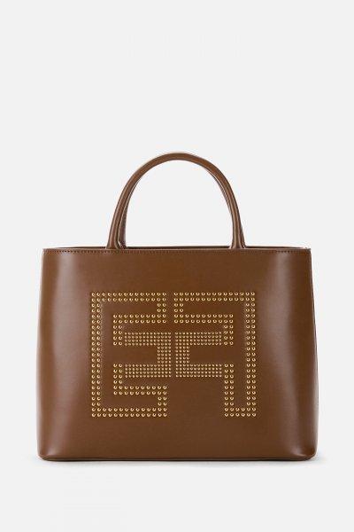 Bolso ELISABETTA FRANCHI Shopper Tachas BS93A07E2
