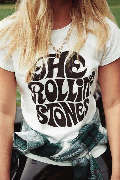 Camiseta FETICHE Rolling Tee ROLLING TWW B&W