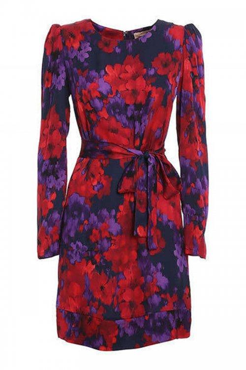 Vestido TWINSET Bicolor Estampado Floral 202TT2351