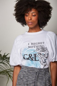 Camiseta GUTS & LOVE I Regret Nothing Tee C-20-1-003
