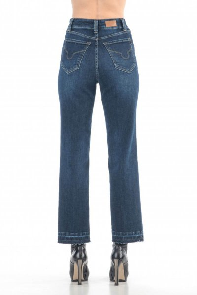 Jeans SOS Salt & Pepper Denim Dark Used P13S 4481