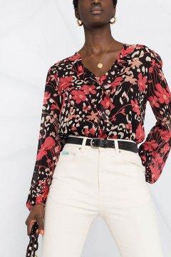 Blusa TWINSET Con Estampado Floral 202TP2525